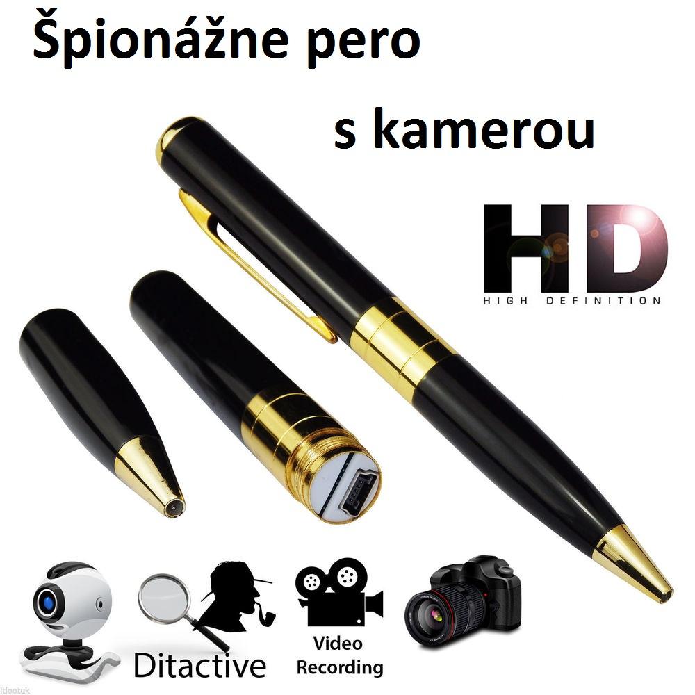 PEN CAM - pero s HD kamerou poštovné zadarmo
