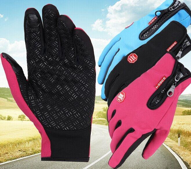 Zimné rukavice na dotykové mobily a tablety